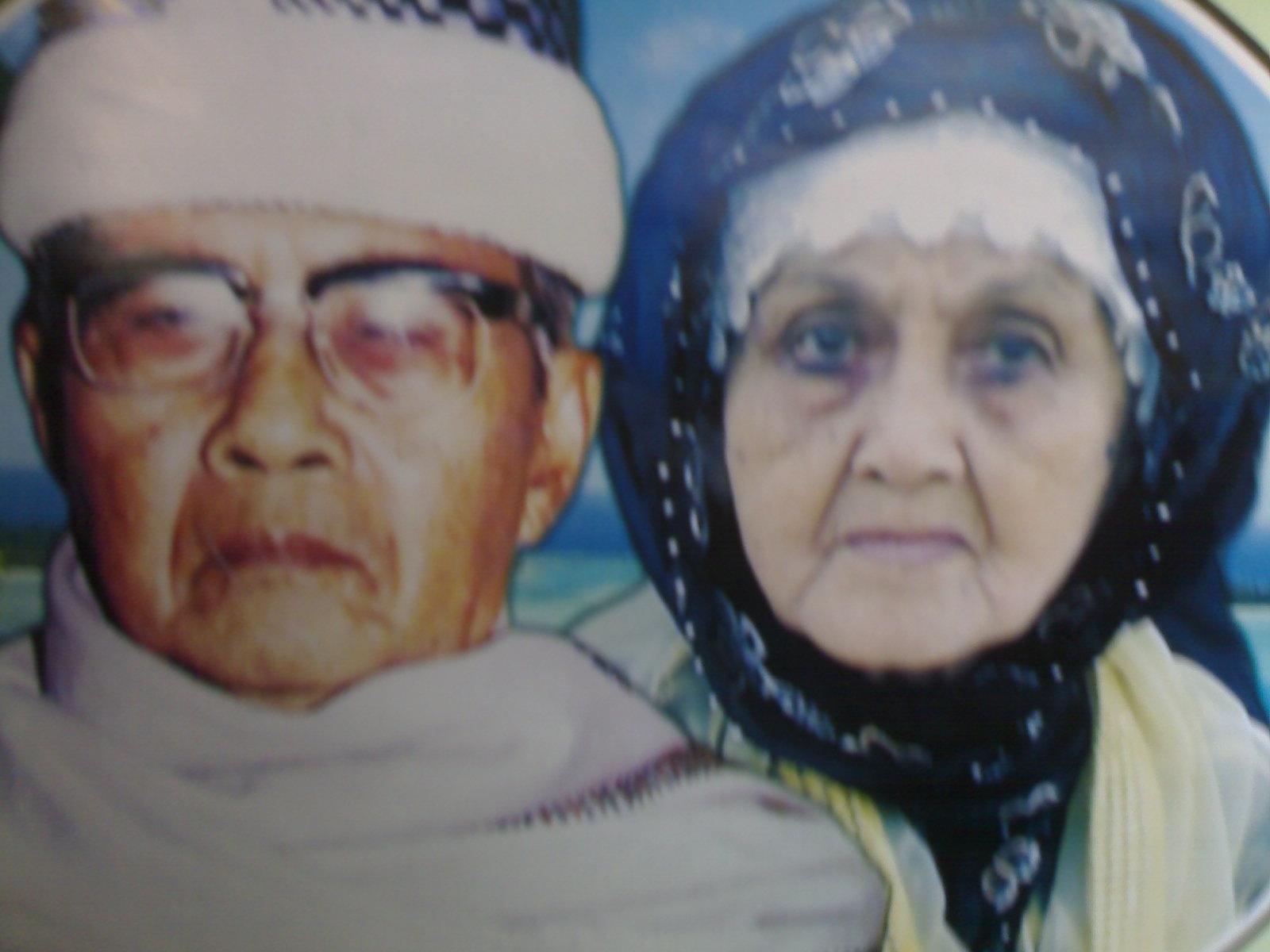 KH. Elon Syuja`i (Pendiri Pesantren Asy-Syuja'iyah, Bantar Kemang, Bogor), (almh.) Nyai. Hj. Sa'diyah