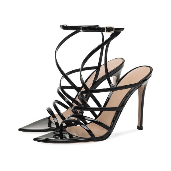 ROISIN Women's Patent Leather Sandals