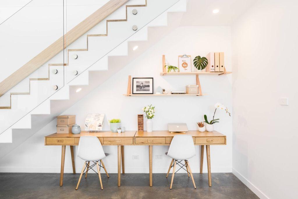 Workspace-under-stairs