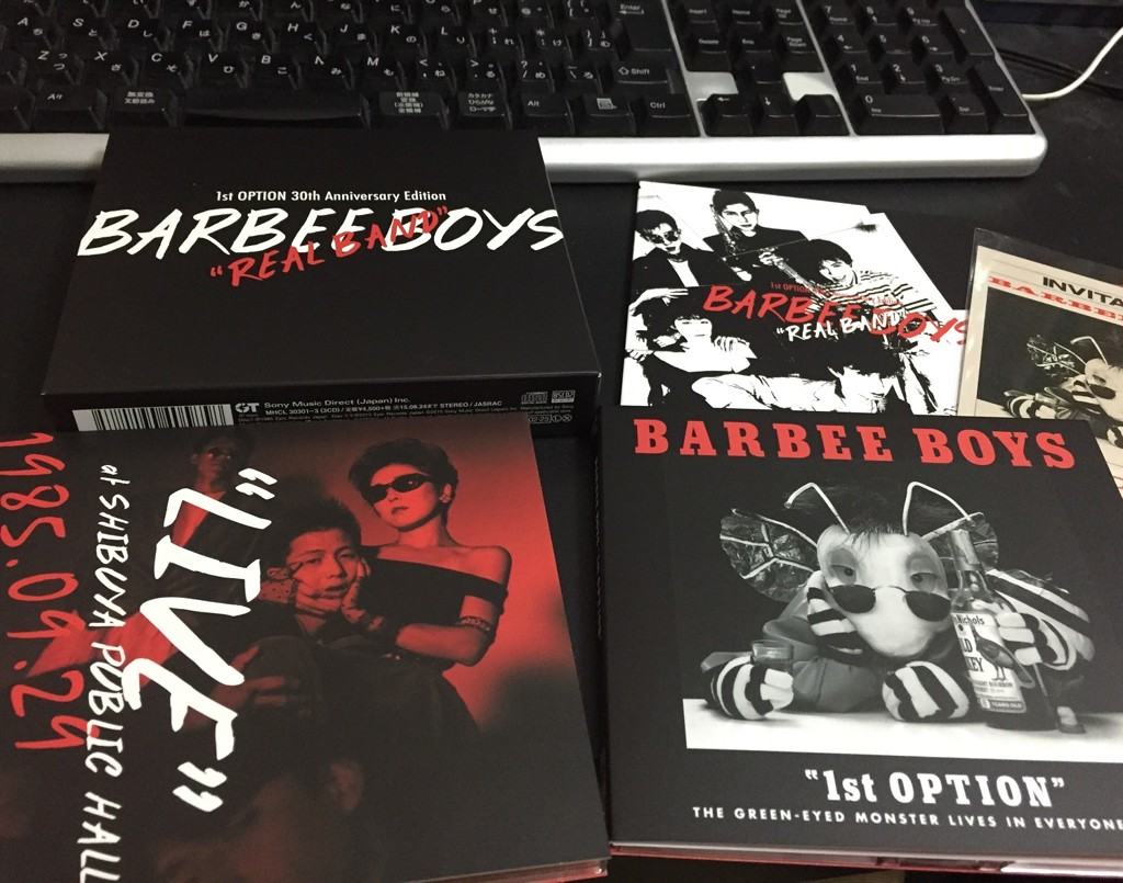 BARBEE BOYS 「REAL BAND -1st OPTION 30th Anniversary Edition-