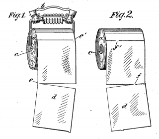Toilet Roll Patent