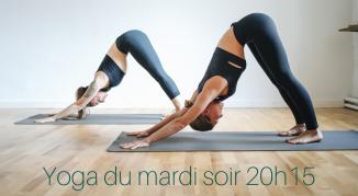 Illustration de l'événement Cours de yoga adultes /Mardi soir
