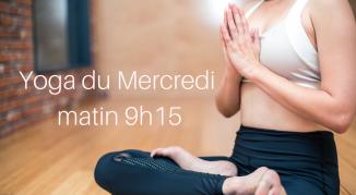Illustration de l'événement Cours de yoga adultes /Mercredi matin I