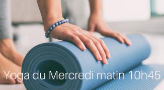 Illustration de l'événement Cours de yoga adultes /Mercredi matin II