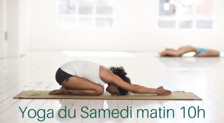 Illustration de l'événement Cours de yoga adultes /Samedi matin