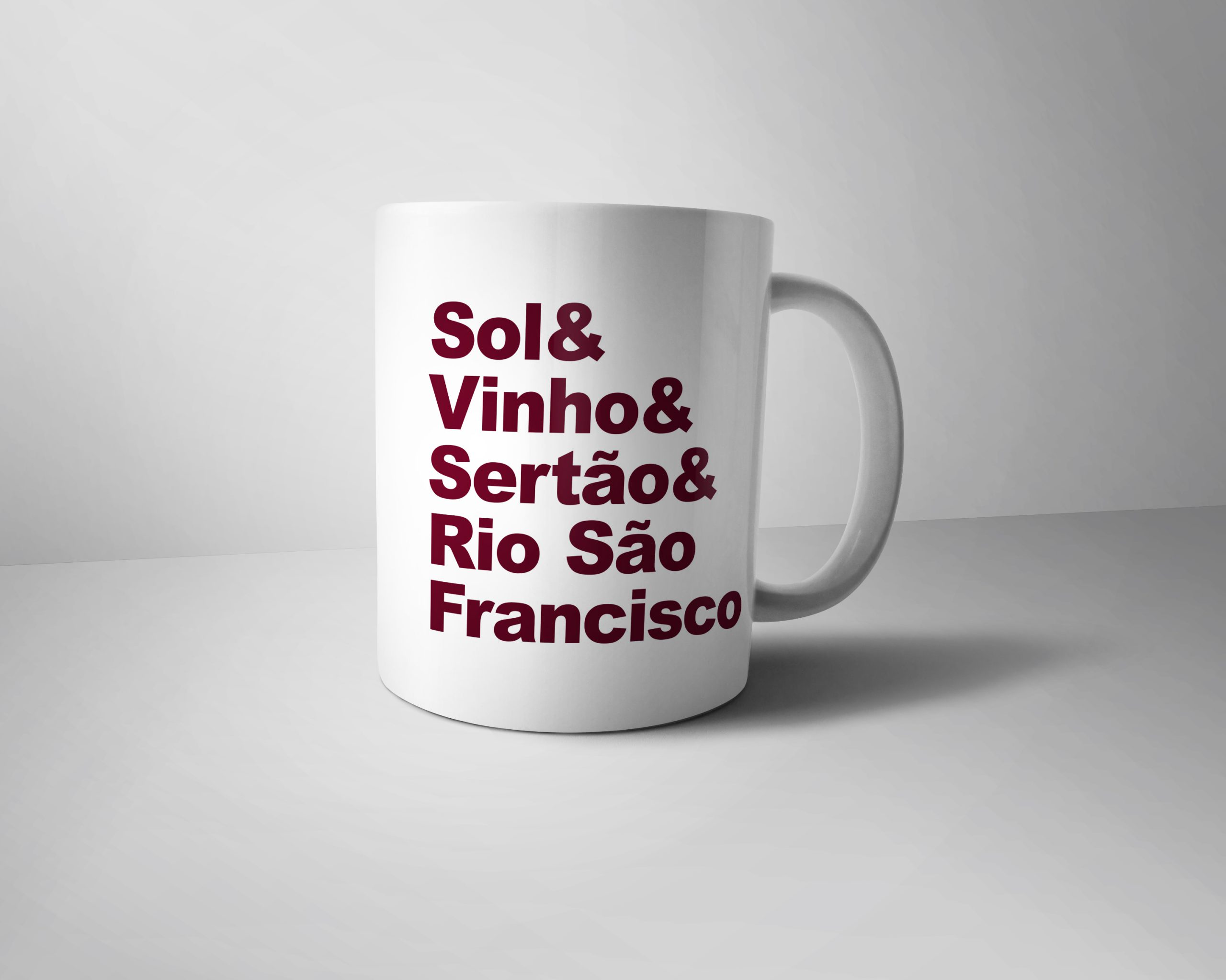 Caneca SOL & VINHO