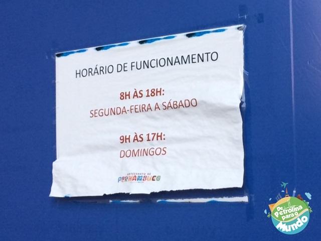 Artesanatos de Pernambuco no Marco Zero