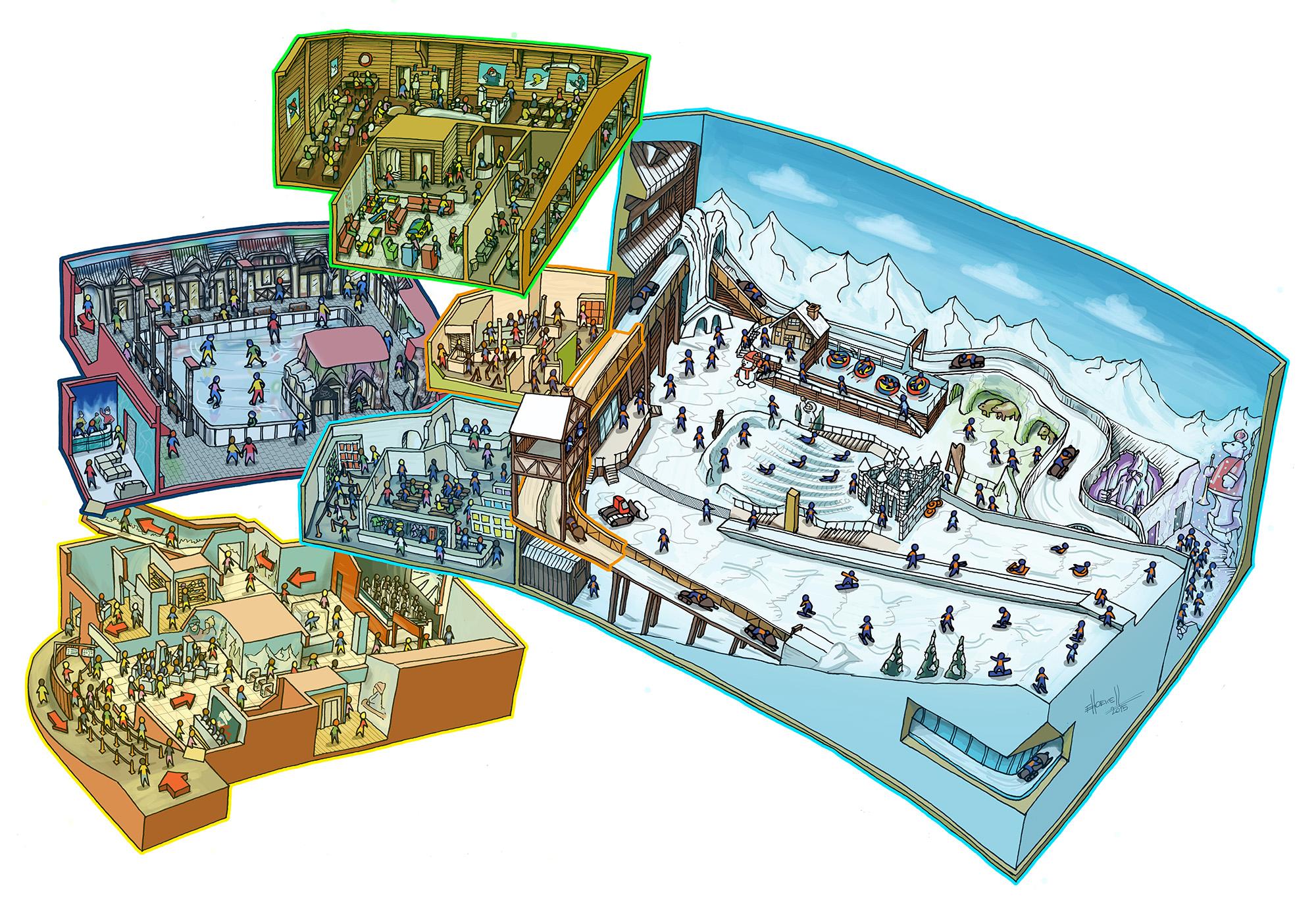 Mapa do Snowland