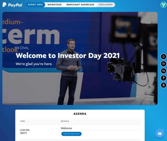 Paypal Investor Day