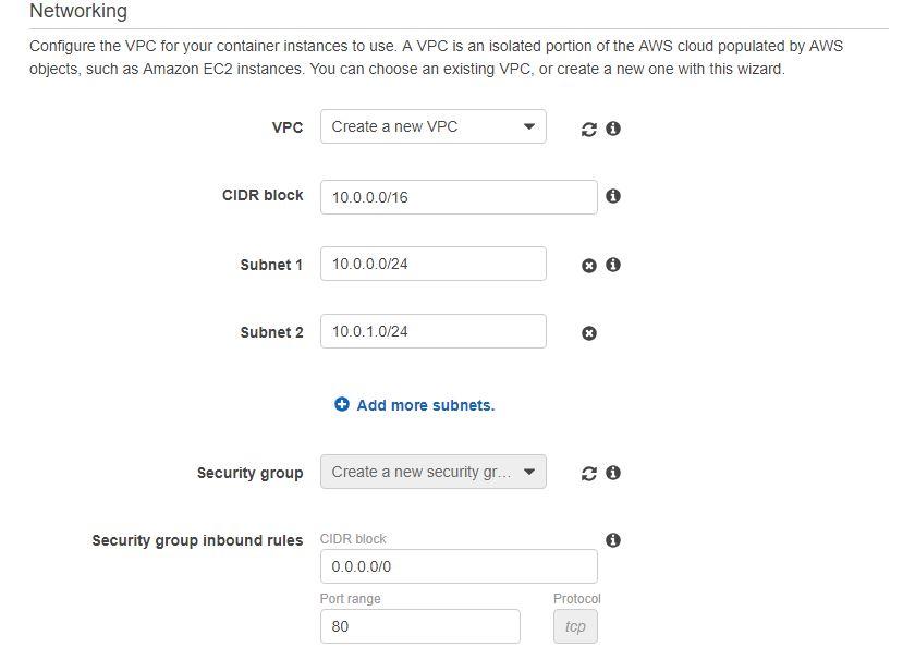 Add VPC