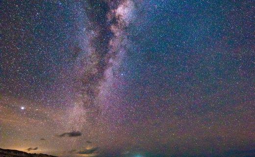 Noční obloha v Austrálii