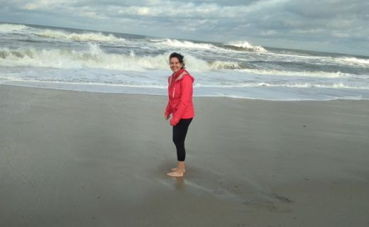 Fotka na pláži