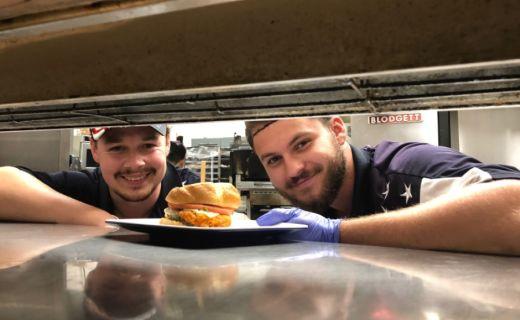 Vyborny burger od dominika