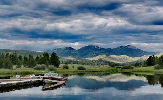 Nádherné jezero