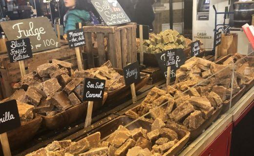 Vánoční trhy v Londýně