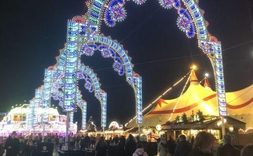 Vánoční světílka v Londýně