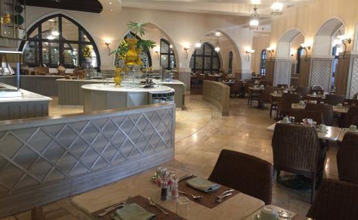 Hotel na Kypru ve kterém Sabina pracovala