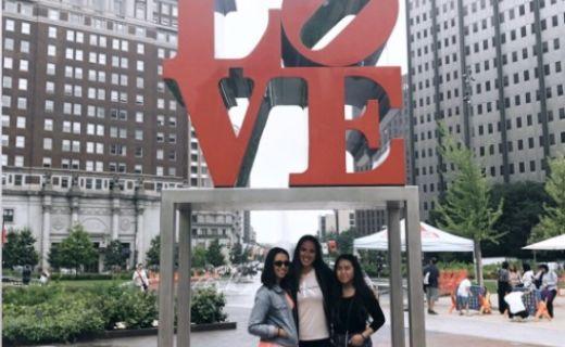 Linda a její kamarádky v Chicagu