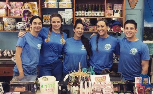pracovní team v Dreamcandy v New Jersey