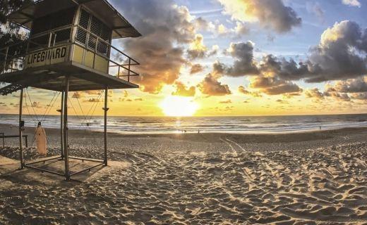 Pláž v Austrálii