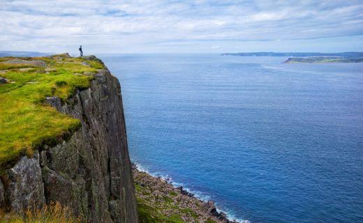 Fotografie útesů Irsku