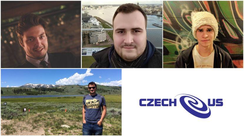 Kolegové z Czech-us IT v koláži