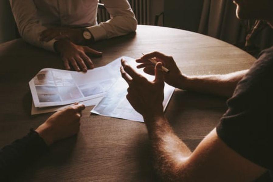 planeje e discuta opções