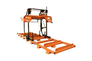 LX250 Twin Rail Sawmill
