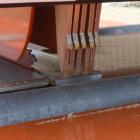 Lumber Edger Safety Fingers