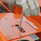 wood splitter controls