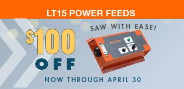 LT15 Sawmill Power Feed