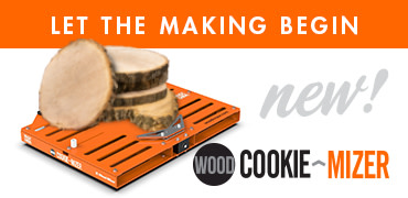 CookieMizer Sawmill Jig for Wood Cookies