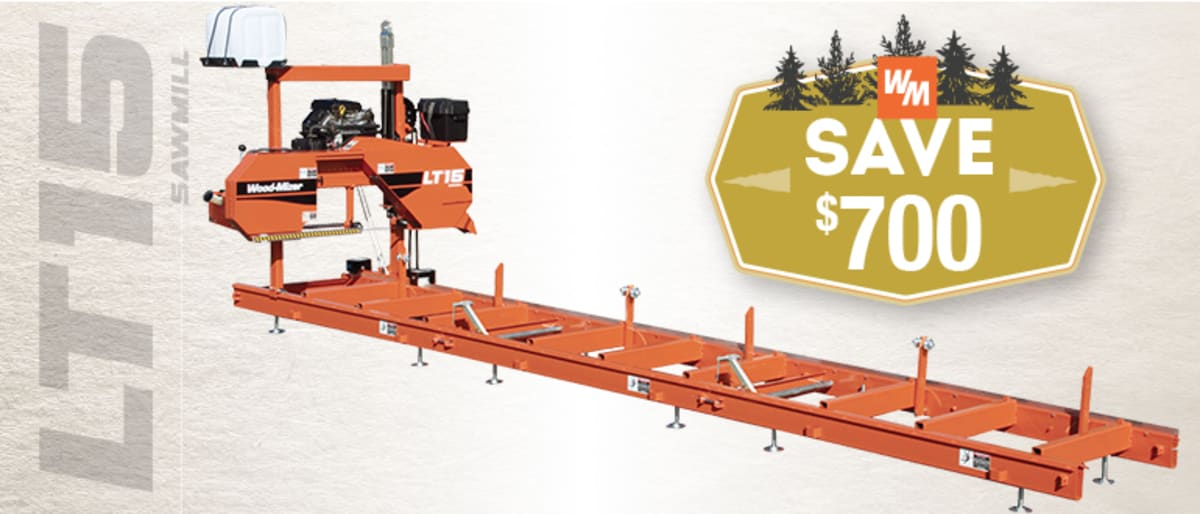 LT15 Portable Sawmill| Portable Sawmills & Wood Processing