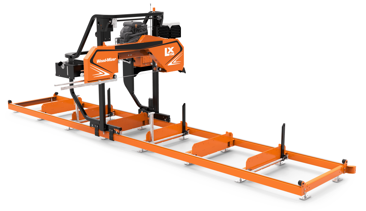 Lx150 Twin Rail Portable Sawmill Portable Sawmills Amp Wood