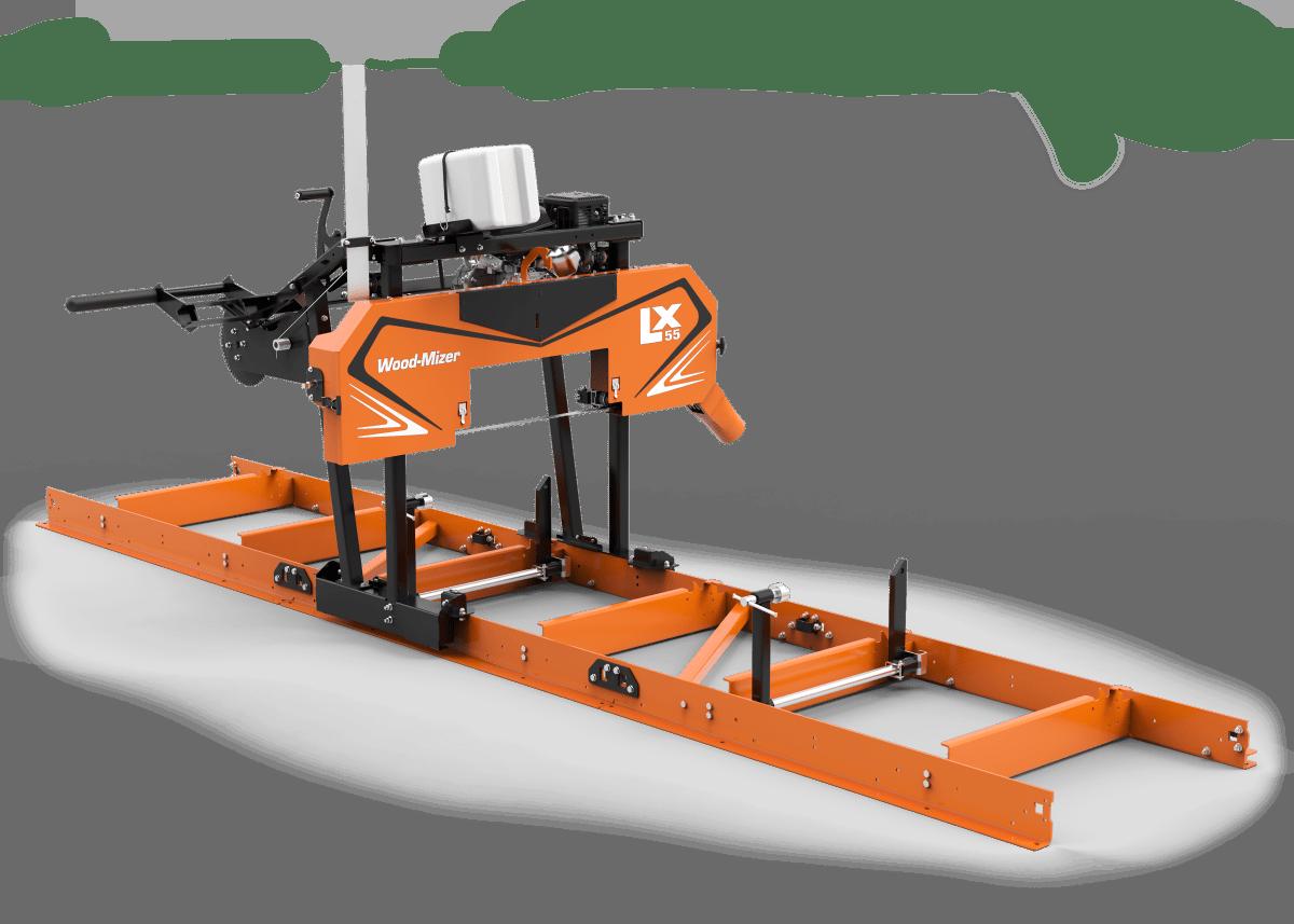 Lx55 Portable Sawmill Portable Sawmills Wood Processing Equipment