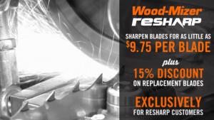 ReSharp Sawmill Blade Sharpening