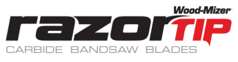 RazorTip Carbide Sawmill Blades