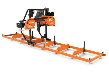 LX150 Twin Rail Sawmill