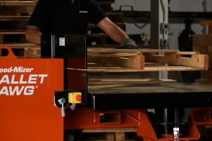 Desmontador de Pallets Pallet Hawg | Wood-Mizer