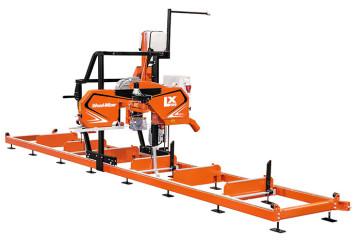 LX100 Twin Rail Sawmill