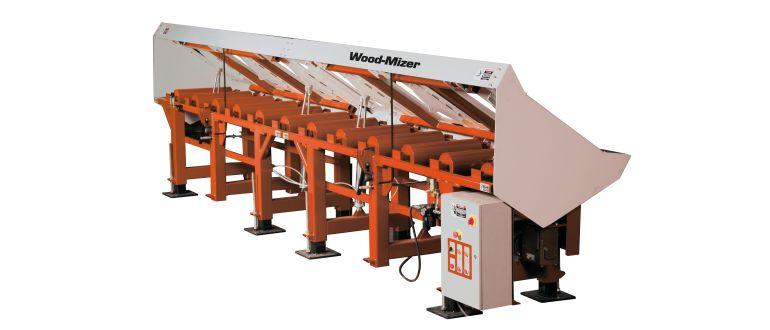 Wood-Mizer Three Way Conveyor