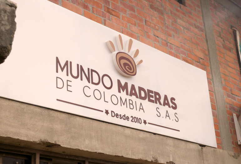 Mundo Maderas timber company in Colombia