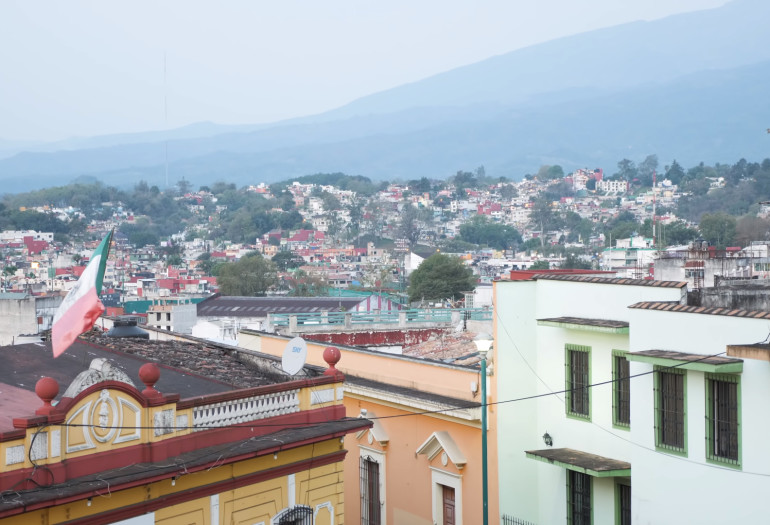 City of Xalapa located on the coast of Mexico
