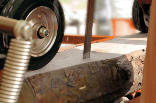 Wood-Mizer Sierra Vertical Sencilla