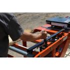 Lumber edger handle