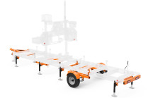 LT15WIDE Portable Sawmill Trailer
