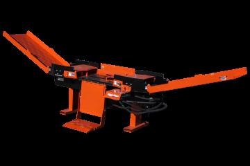 FS350 Rajadora de leña de cargadora compacta