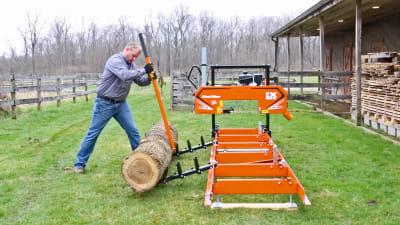 Log Loading Ramps