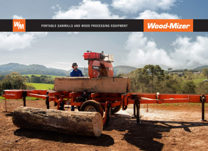 Wood-Mizer Portable Sawmill Equipment Catalog