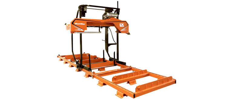 Wood-Mizer LX250 twin rail portable sawmill